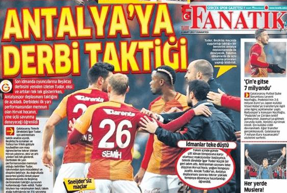 4 Mart Spor Haberleri Gazete Manşetleri