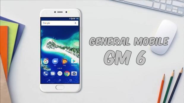 General Mobile GM6 Tanıtıldı
