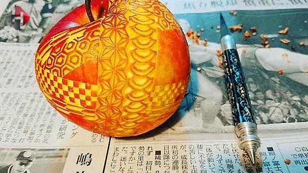 Meyve ve Sebzeler ile Oyma Sanatı