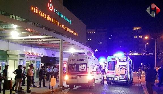 Karabük'te kavga: 10 yaralı