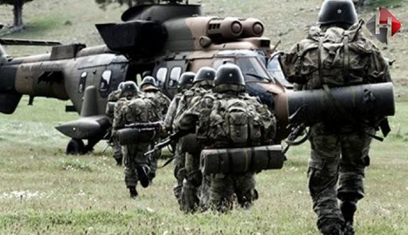 PKK'ya ait 6 hedef imha edildi