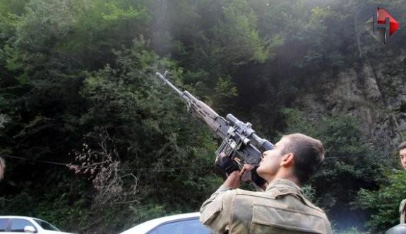 Trabzon-Rize sınırında çatışma çıktı