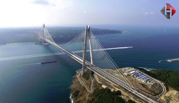 Yavuz Sultan Selim köprüsü havalimanına bağlanıyor