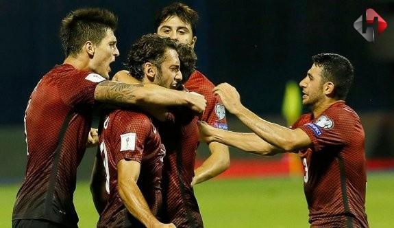 2018 Dünya Kupası Yolunda İlk Emekleme 1-1