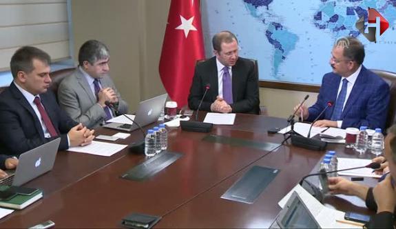 Bakan Özhaseki,Kabine Değişikliği Hakkında Konuştu