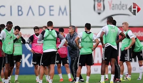 Beşiktaş' Yoğun Derbi Çalışması Yapıyor