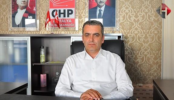 CHP'li Başkan İstifa Etti