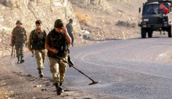 Diyarbakır-Bingöl karayolunda patlayıcı mayın