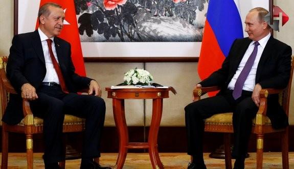 Erdoğan ve Putin Suriye Konusunu Konuştu