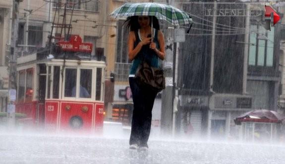İstanbul İçin Sağanak Yağış Alarmı!