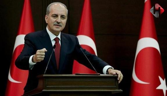 """Kurtulmuş: """"Suriye'nin bölünmesine izin vermeyeceğiz"""""""