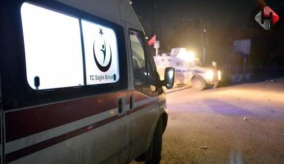 Muş'ta polis aracı ile traktör çapıştı: 4 yaralı!
