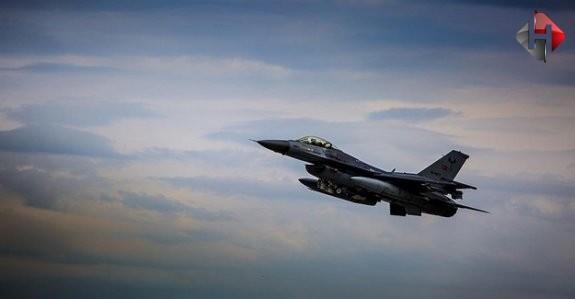 TSK' O Bölgeye Hava Harekâtı Düzenledi
