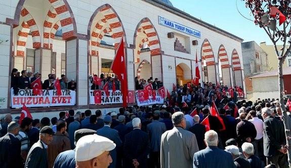 Van'ın Erciş ilçesinde terör protestoları!