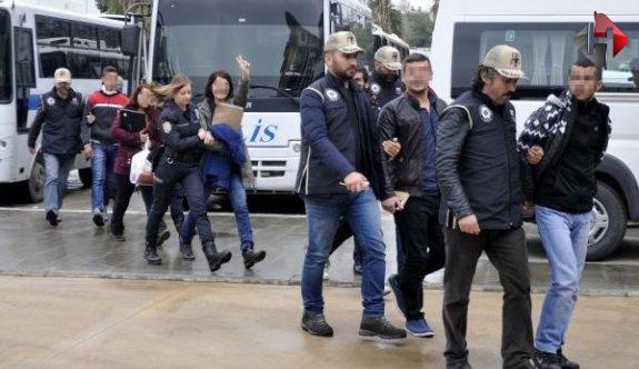 Antalya'da PKK!.. 25 Gözaltı