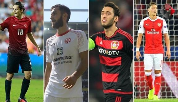 Avrupa'daki Türk Futbolcular Gol Sergiliyor