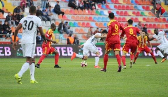 Beşiktaş Kayseri'yi Devirdi