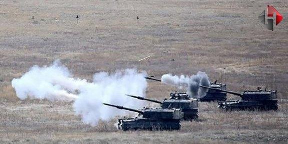 Fırat Kalkanı Harekatı'nda IŞİD ve PKK/PYD hedefleri vuruldu