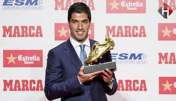 Luis Suarez Sonunda Altın Ayakkabısına Kavuşmuş Oldu
