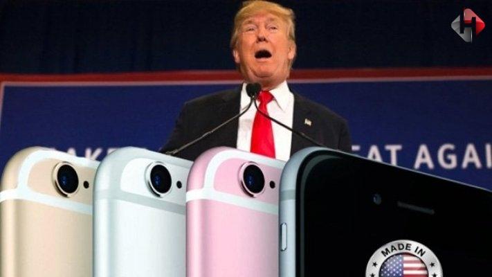 ABD Başkanı Donald Trump iPhone Fiyatlarını Arttırabilir!