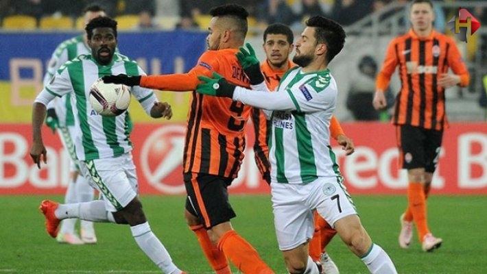Atiker Konyaspor 0-4  Shakhtar Donetsk