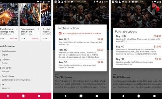 Google Play Filmler Bundan Sonra 4K Çözünürlük Sunacak!