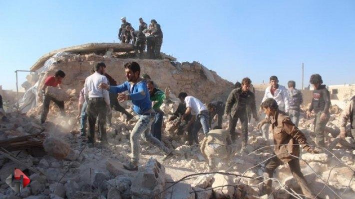 Halep'e saldırı bitmiyor 46 sivil hayatını kaybetti