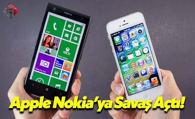 Apple'dan Nokia'ya Savaş Darbesi!