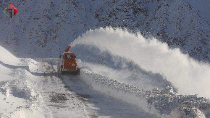 Doğu'da yoğun kar yağışı