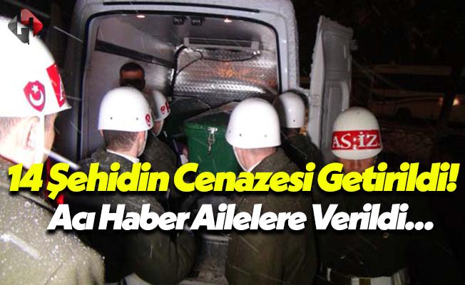 Fırat Kalkanı Harekatı'nda Şehit Olan 14 Askerin Ailelerine Haber Verildi!