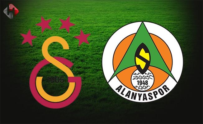 Galatasaray Alanyaspor 5-1 Geniş Maç Özeti / Spor Toto Süper Lig