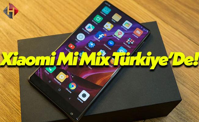 Son Dakika: Xiaomi Mi Mix Türkiye'de N11 Üzerinden Satışa Sunuldu!