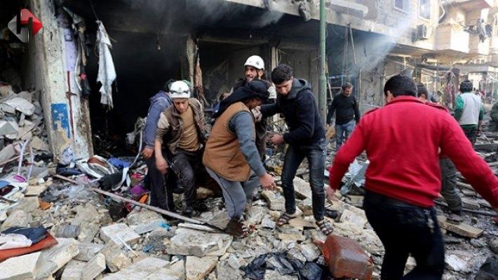 Suriye'de Sivil Katliamı Devam Ediyor