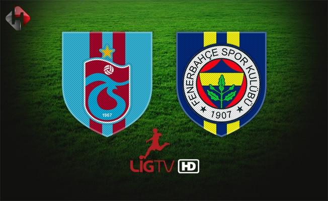 Trabzonspor Fenerbahçe Şifresiz Lig TV Maç Yayını Netspor Taraftarium