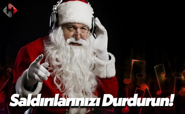 Türkiye'de Noel Baba Saldırılarına Karşı Sert Tepki!