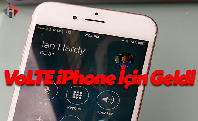 Vodafone Türkiye'den iPhone İçin VolTE Özelliği