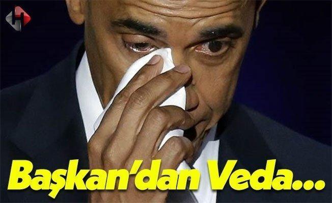 ABD Başkanı Barack Obama'dan Veda Konuşması