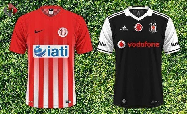Antalyaspor Beşiktaş 4-2 Hazırlık Maçı Geniş Özeti