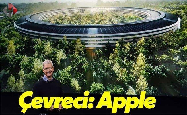Apple Dünyanın En Çevreci Teknoloji Şirketi Seçildi!