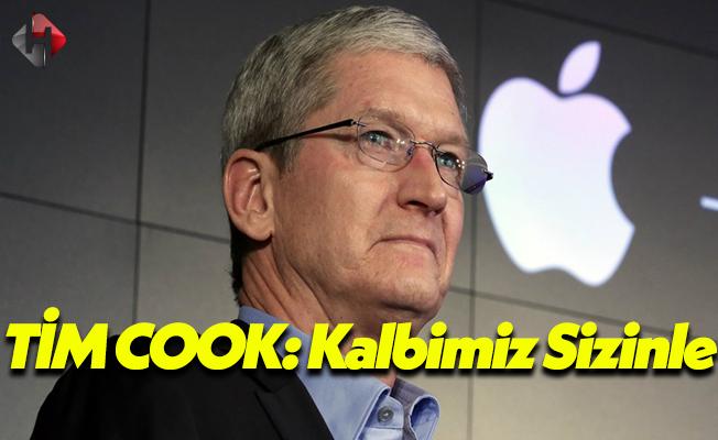 Apple'ın CEO'su Tim Cook Türkiye İçin Mesaj Yayınladı!
