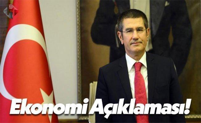 Başbakan Yardımcısı Nurettin Canikli'den Ekonomi Açıklaması!