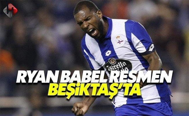 Beşiktaş yeni transferi Ryan Babel KAP'ta