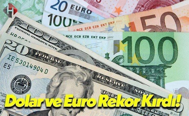 Dolar ve Euro'da Beklenmeyen Yükseliş: Rekor Üzerine Rekor!