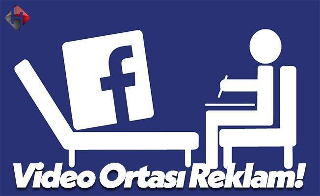 Facebook Video Ortası Reklamlar Koymaya Hazırlanıyor!