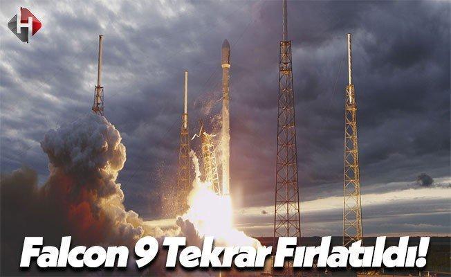 Falcon 9 Roketi Bir Kez Daha Fırlatıldı!
