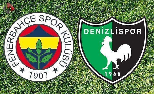 Fenerbahçe Denizlispor maçı ne zaman saat kaçta hangi kanalda