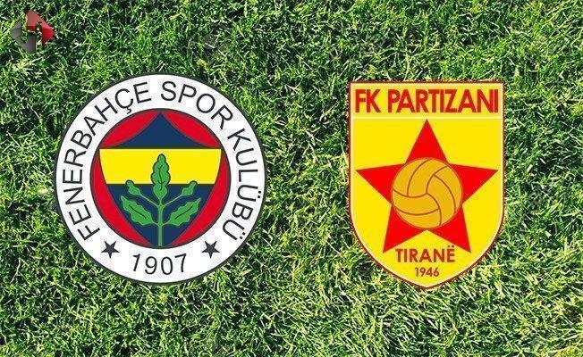 Fenerbahçe Partizani maçı ne zaman saat kaçta hangi kanalda