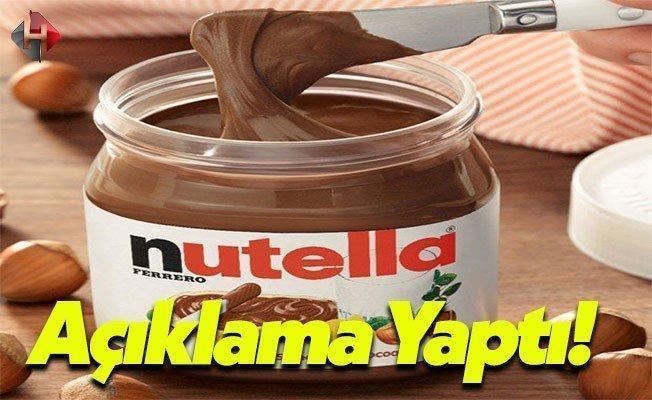 Ferrero Türkiye: Nutella Kesinlikle Kanserojen Değil!