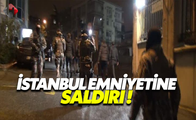 Son Dakika İstanbul Emniyeti'ne Lav Silahlı Saldırı