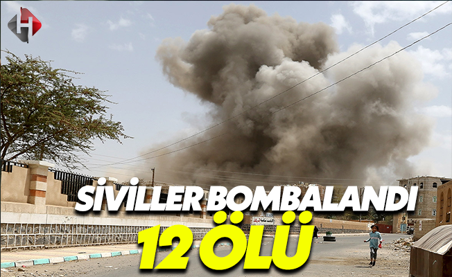 Koalisyon Uçakları Sivilleri Bombaladı
